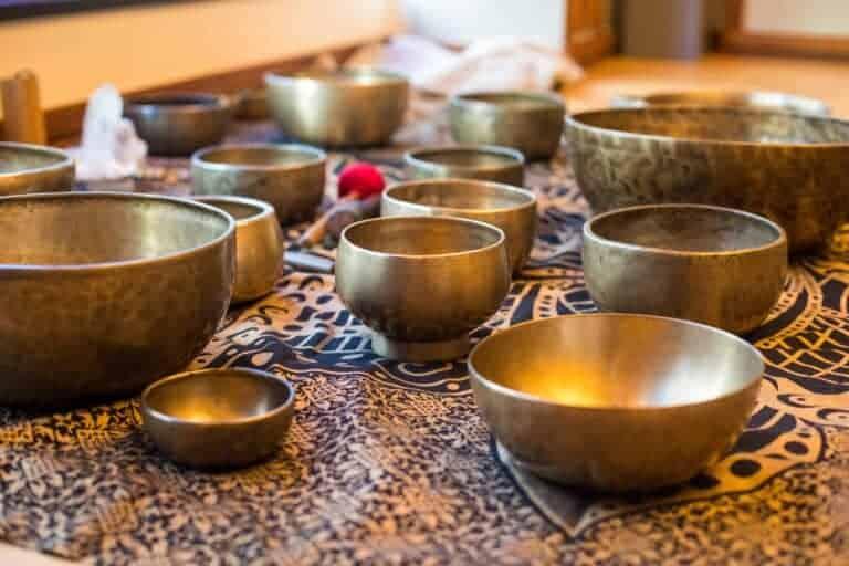 Himalayan bowl massage treatment